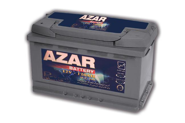 باتری آذر 12v 88 AH