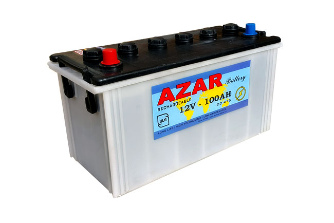 باتری آذر 12v 100 AH