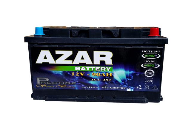باتری آذر 12v 90 AH