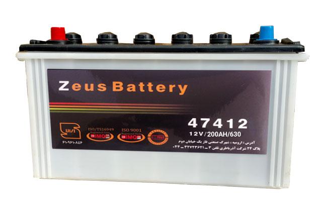 باتری زئوس 12V-200AH