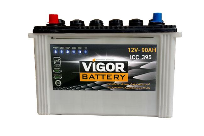 باتری ویگور 12v 90 AH