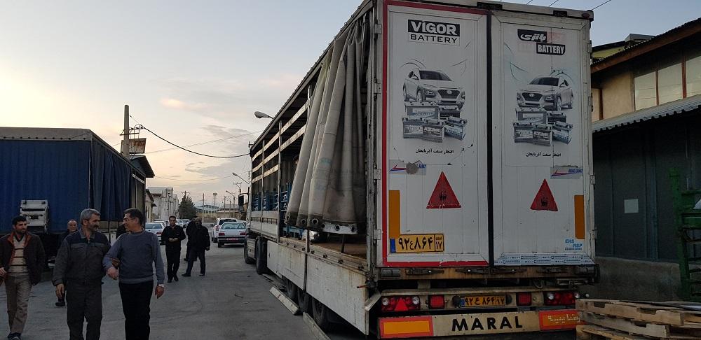 گزارش تصوری از صادرات باتری به افغانستان