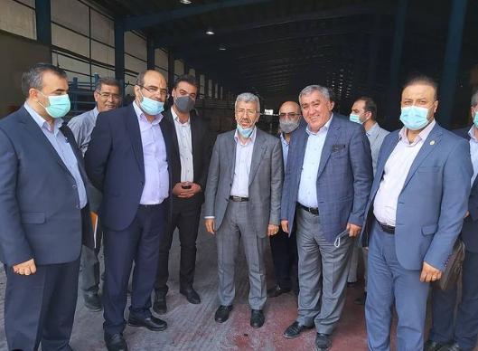 بازدید معاونت امور شعب بانک ملی از آذرباتری