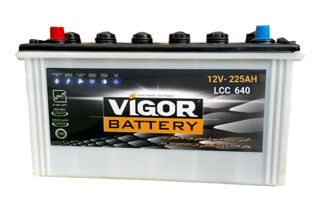 باتری ویگور 12v 225 AH