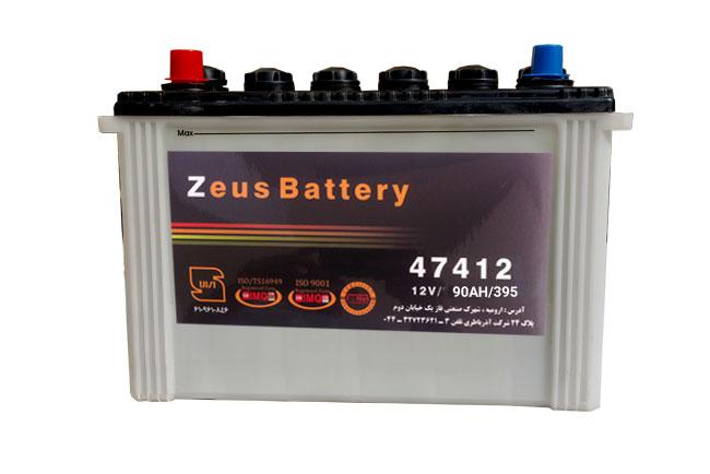 باتری زئوس L5 12V-90AH