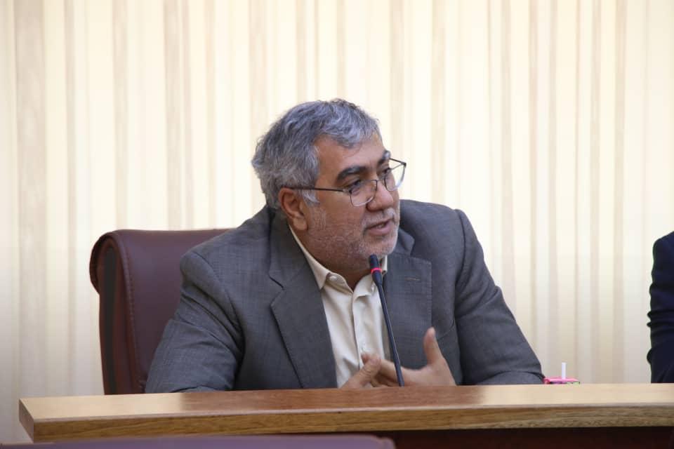 حضور حاج کاظم مرتاض در جلسه اتاق بازرگانی ارومیه